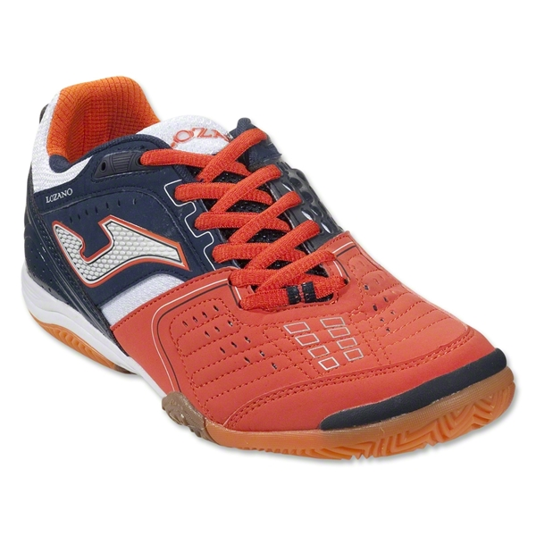 Joma Lozano Indoor Shoe (Flame/Midnight Navy/White)