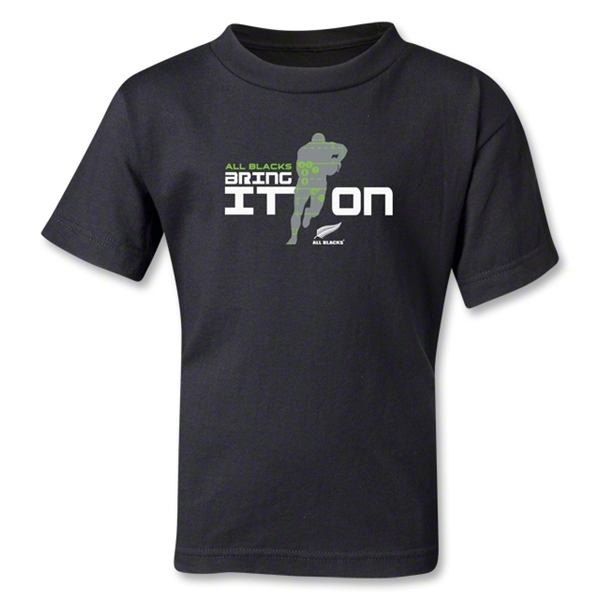 All Blacks Bring It On Kids T-Shirt (Black)