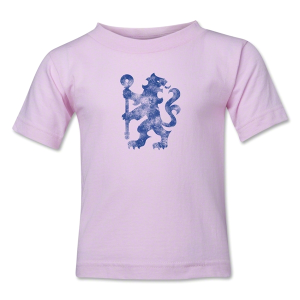 Chelsea Distressed Lion Kids T-Shirt (Pink)