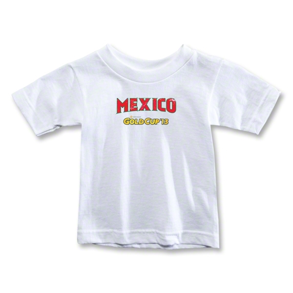 Mexico CONCACAF Gold Cup 2013 Kids T-Shirt (White)