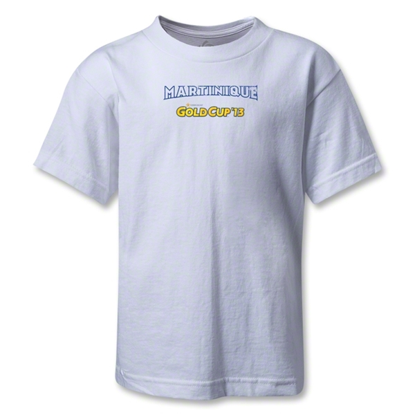 Martinique CONCACAF Gold Cup 2013 Kids T-Shirt (White)