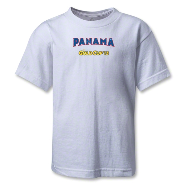 Panama CONCACAF Gold Cup 2013 Kids T-Shirt (White)