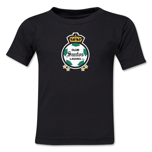 Santos Laguna Kids T-Shirt (Black)