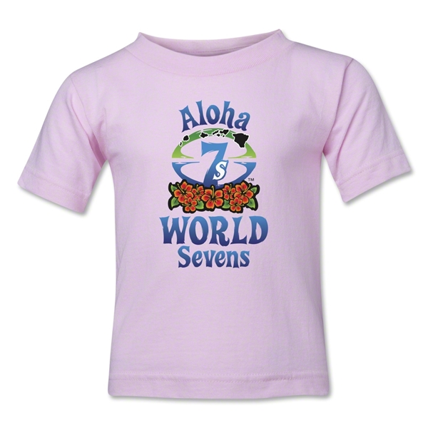 Aloha World Sevens Kids T-Shirt (Pink)