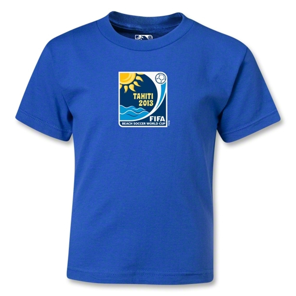 FIFA Beach World Cup 2013 Kids Emblem T-Shirt (Royal)