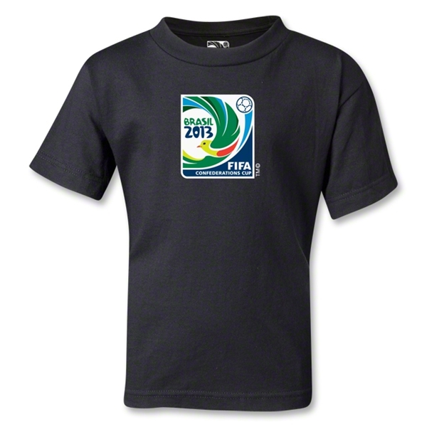 FIFA Confederations Cup 2013 Kids Emblem T-Shirt (Black)