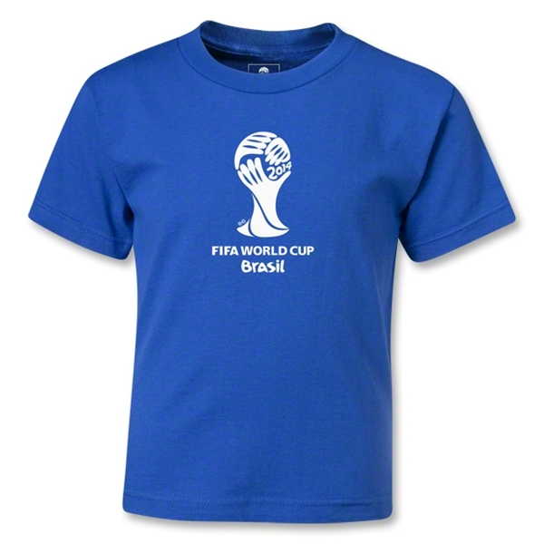 2014 FIFA World Cup Brazil(TM) Kids Emblem T-Shirt (Royal)