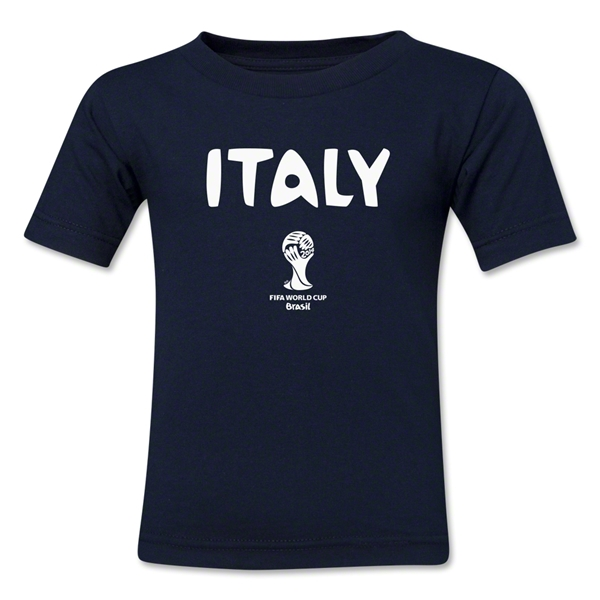 Italy 2014 FIFA World Cup Brazil(TM) Kids Core T-Shirt (Navy)