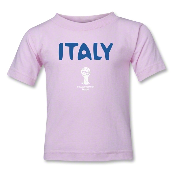 Italy 2014 FIFA World Cup Brazil(TM) Kids Core T-Shirt (Pink)