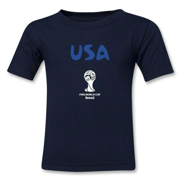 USA 2014 FIFA World Cup Brazil(TM) Kids Core T-Shirt (Navy)