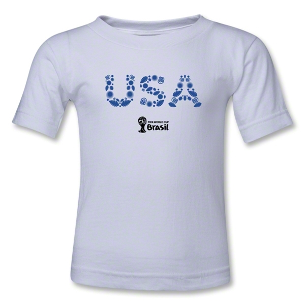 USA 2014 FIFA World Cup Brazil(TM) Kids Elements T-Shirt (White)