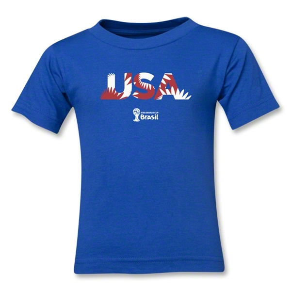 USA 2014 FIFA World Cup Brazil(TM) Kids Palm T-Shirt (Royal)