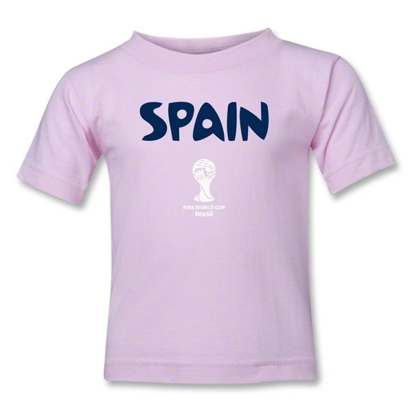 Spain 2014 FIFA World Cup Brazil(TM) Kids Core T-Shirt (Pink)
