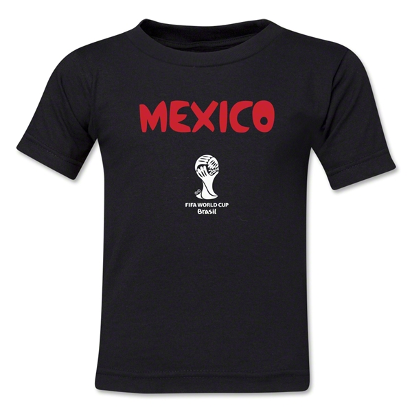 Mexico 2014 FIFA World Cup Brazil(TM) Kids Core T-Shirt (Black)