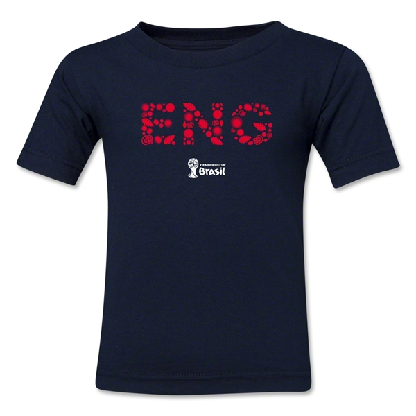 England 2014 FIFA World Cup Brazil(TM) Kid's Elements T-Shirt (Navy)