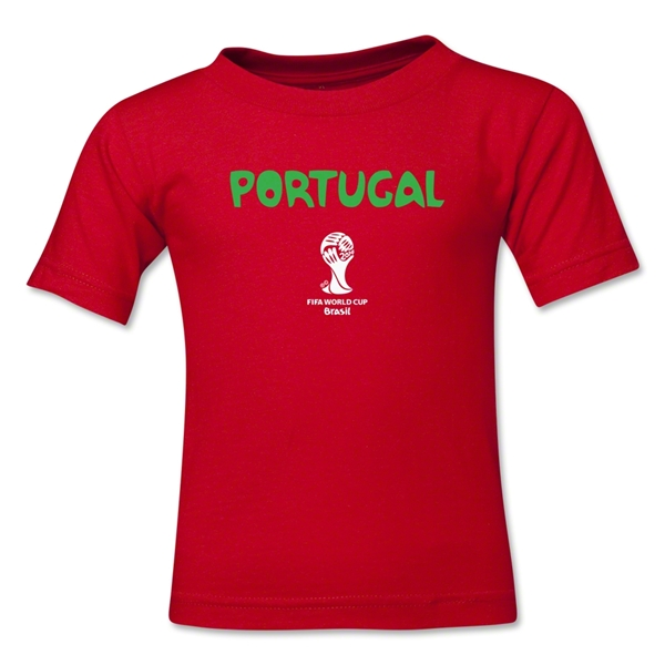 Portugal 2014 FIFA World Cup Brazil(TM) Kid's Core T-Shirt (Red)