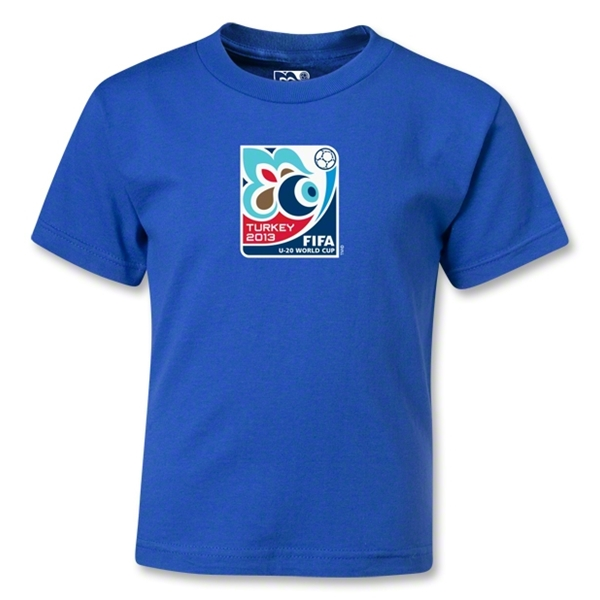 FIFA U-20 World Cup Turkey 2013 Kids Emblem T-Shirt (Royal)