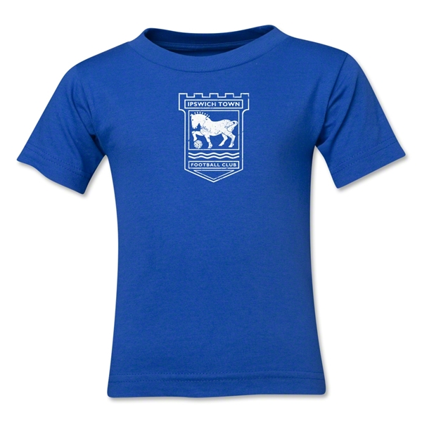 Ipswich Town Distressed Kids T-Shirt (Royal)
