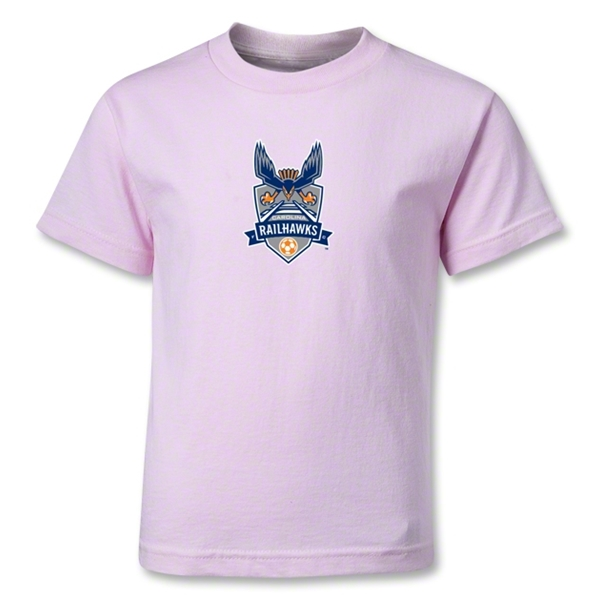 Carolina Railhawks Kids T-Shirt (Pink)