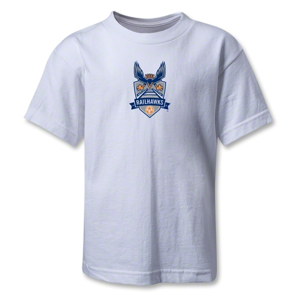 Carolina Railhawks Kids T-Shirt (White)