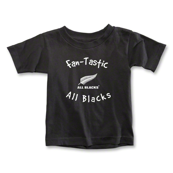 All Blacks Fan-Tastic Toddler T-Shirt (Black)