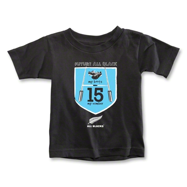 All Blacks My Boots, My Number Toddler T-Shirt (Boys)