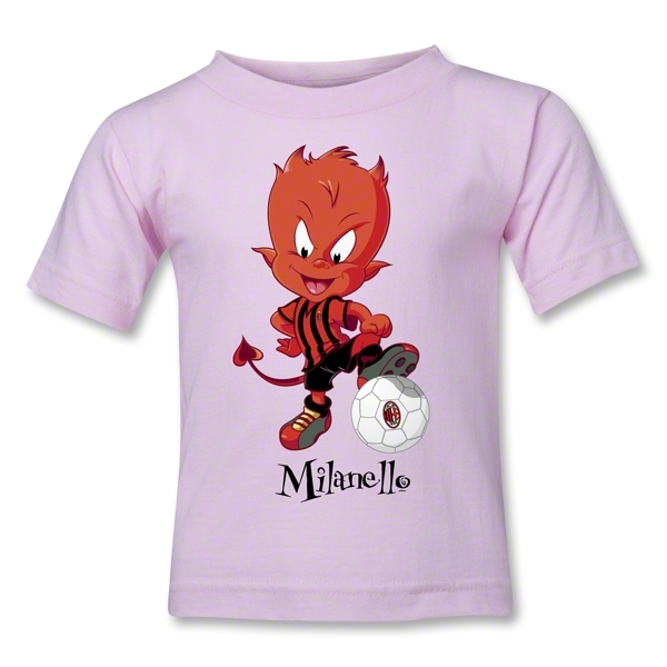 AC Milan Milanello Toddler T-Shirt (Pink)