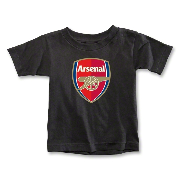 Arsenal Toddler T-Shirt (Black)