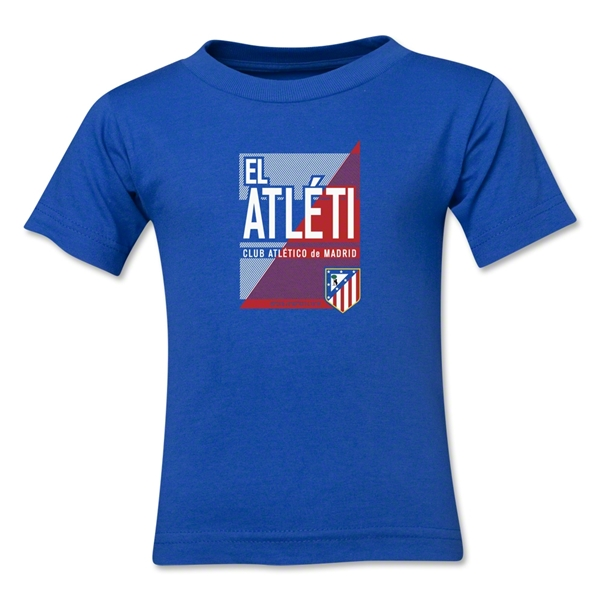 Atletico Madrid El Atleti Toddler T-Shirt (Royal)