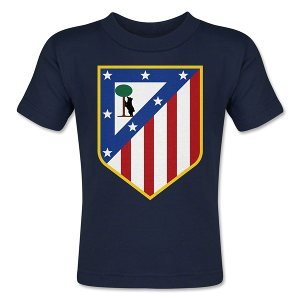 Atletico Madrid Crest Toddler T-Shirt (Navy)