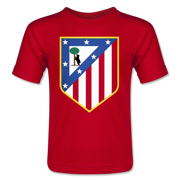 Atletico Madrid Crest Toddler T-Shirt (Red)