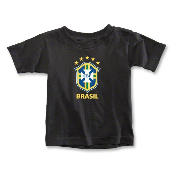 Brazil Toddler T-Shirt (Black)
