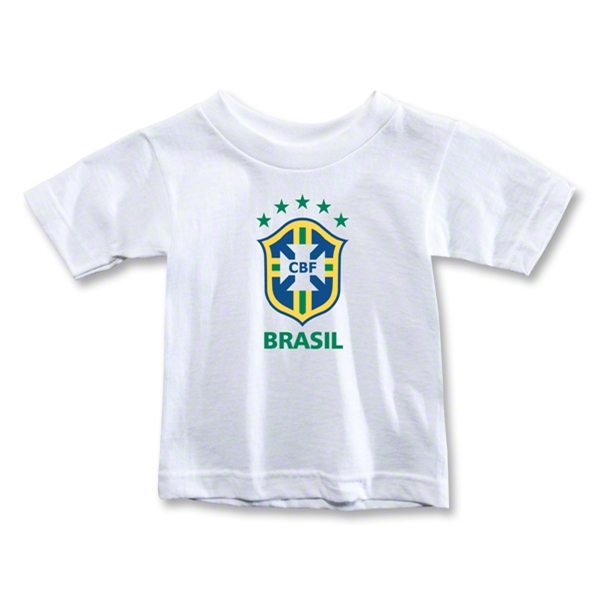 Brazil Toddler T-Shirt (White)