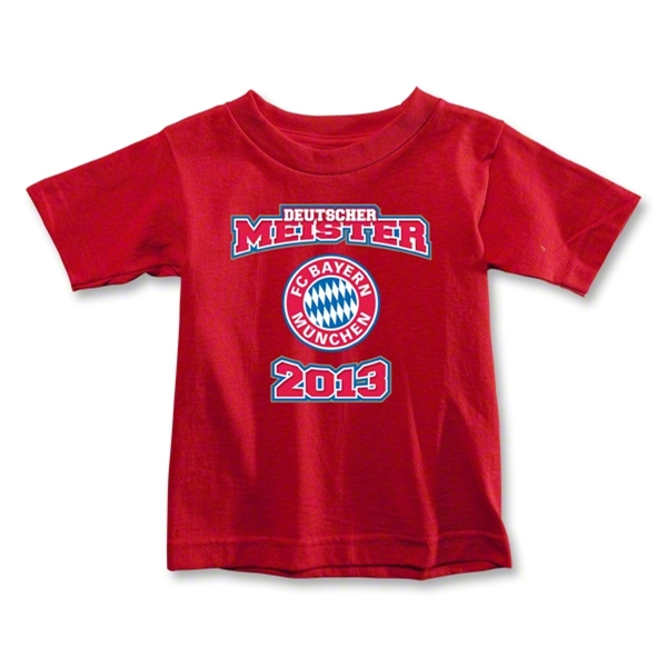 Bayern Munich 2013 Toddler Deutscher Meister T-Shirt (Red)