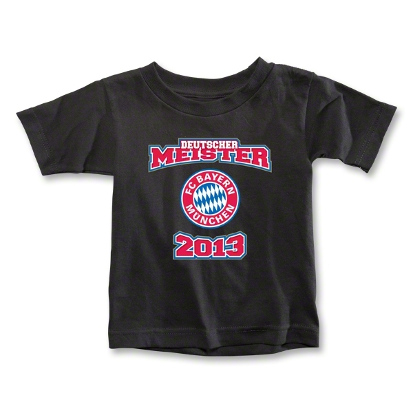 Bayern Munich 2013 Toddler Deutscher Meister T-Shirt (Black)