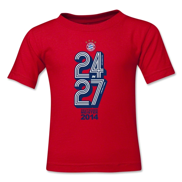 Bayern Munich 2014 Toddler Champions T-Shirt (Red)