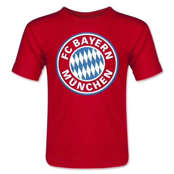 Bayern Munich Logo Toddler T-Shirt (Red)
