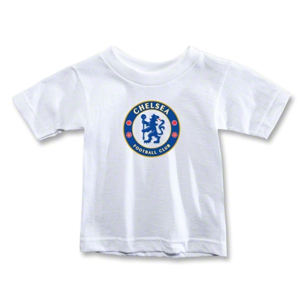 Chelsea Crest Toddler T-Shirt (Black)