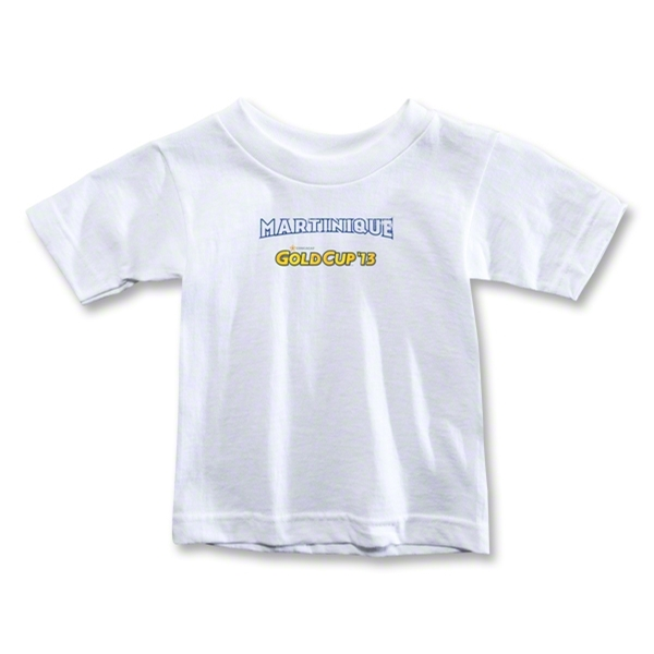 CONCACAF Gold Cup 2013 Toddler Martinique T-Shirt (White)