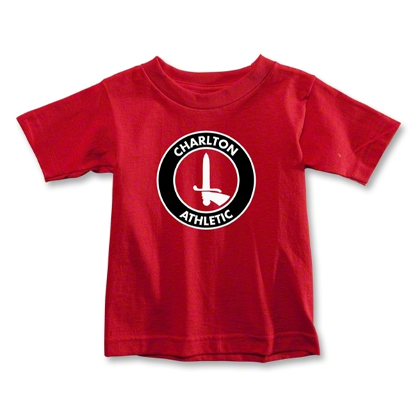 Charlton Athletic Crest Toddler T-Shirt (Red)