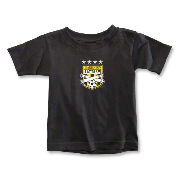 Charleston Battery Toddler T-Shirt (Black)