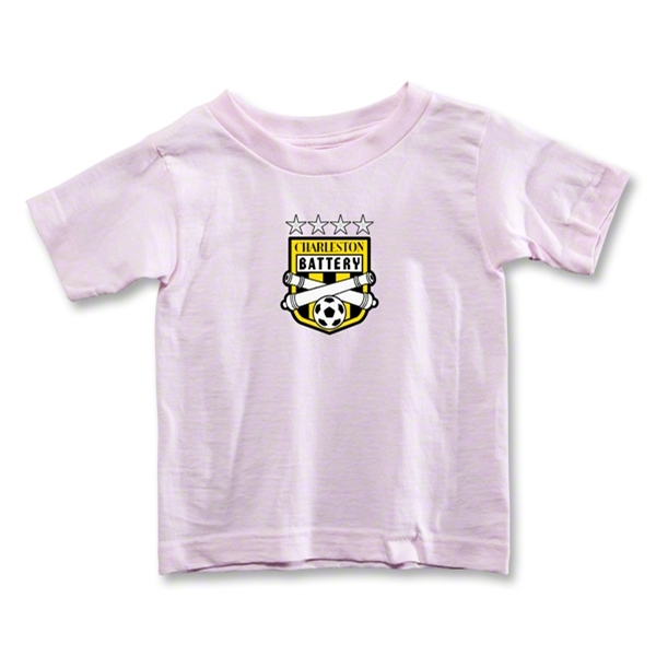 Charleston Battery Toddler T-Shirt (Pink)