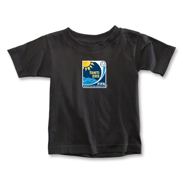 FIFA Beach World Cup 2013 Toddler Emblem T-Shirt (Black)