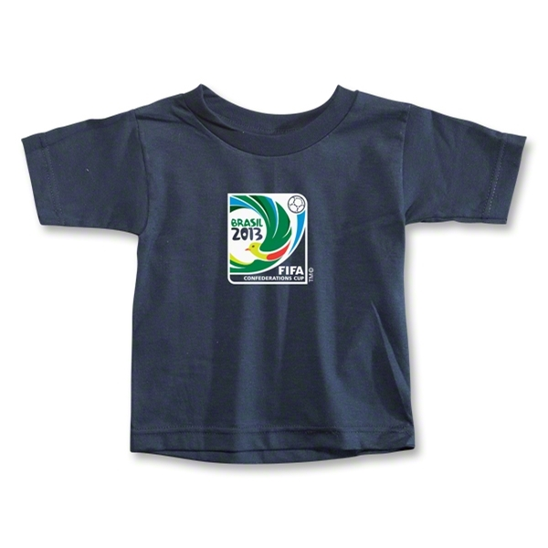 FIFA Confederations Cup 2013 Toddler Emblem T-Shirt (Navy)