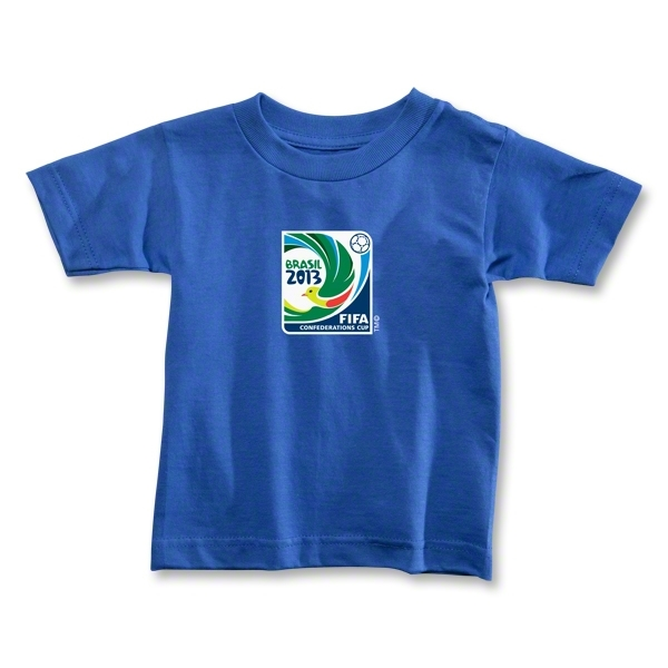 FIFA Confederations Cup 2013 Toddler Emblem T-Shirt (Royal)