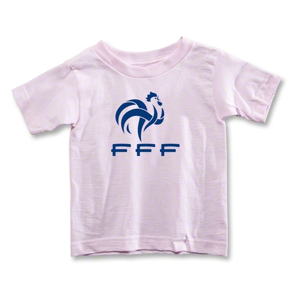 France FFF Toddler T-Shirt (Pink)