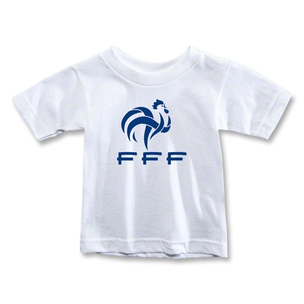 France FFF Toddler T-Shirt (White)