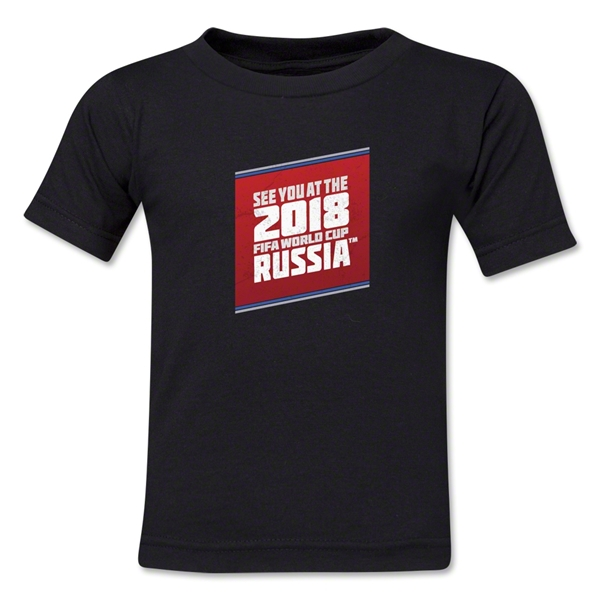 2018 FIFA World Cup Russia(TM) Toddler T-Shirt (Black)