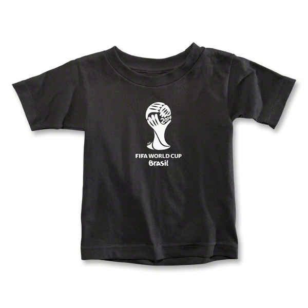 2014 FIFA World Cup Brazil(TM) Toddler Emblem T-Shirt (Black)