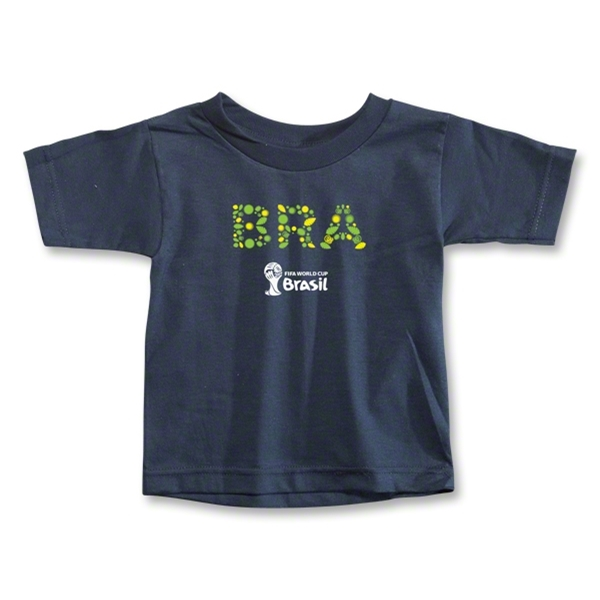 Brazil 2014 FIFA World Cup Brazil(TM) Toddler Elements T-Shirt (Navy)